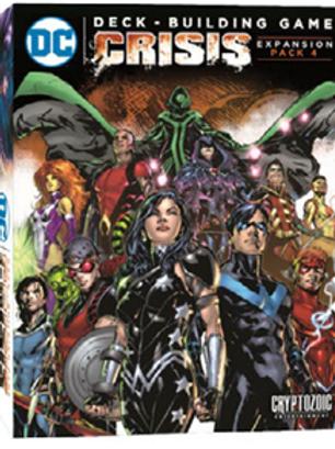 DC Comics Deck-Building Game -Crisis Extension Pack4