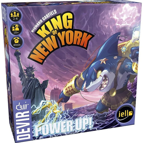 King of Tokyo New-York Power Up (Extension FR)