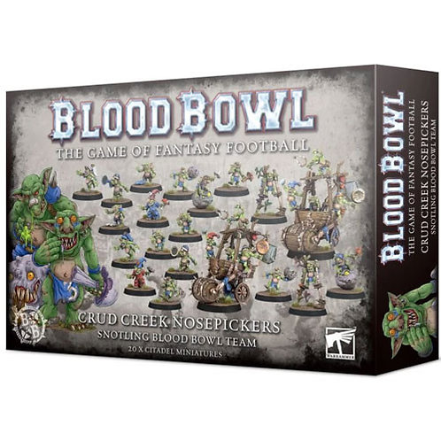 Blood Bowl - Crud Greek Nosepikers