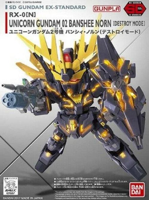 Unicorn Gundam 02 Banshee [Destroy Mode] - SD Gundam- Gunpla