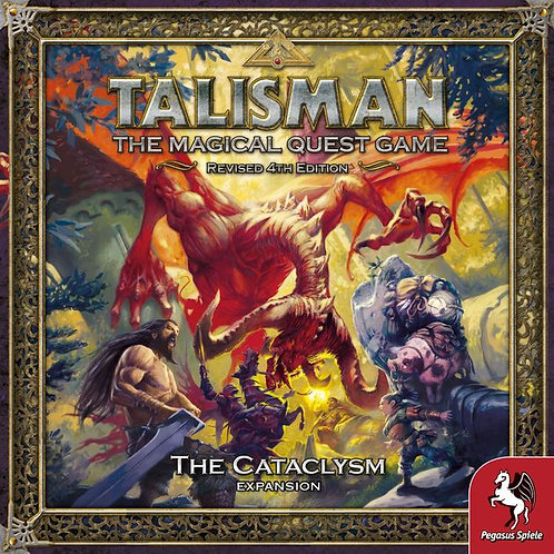 Talisman, The magical Quest Game Revised 4th Edition, The Cataclysm Expansion