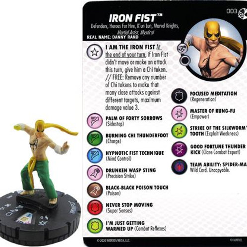 Iron Fist #003