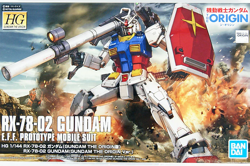 RX-78-02 Gundam - Gunpla