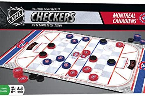 Checkers, Jeu de Dames, Canadian Montréal
