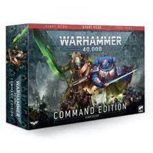 Warhammer 40k Starter Set Command Edition (ENG & FR)