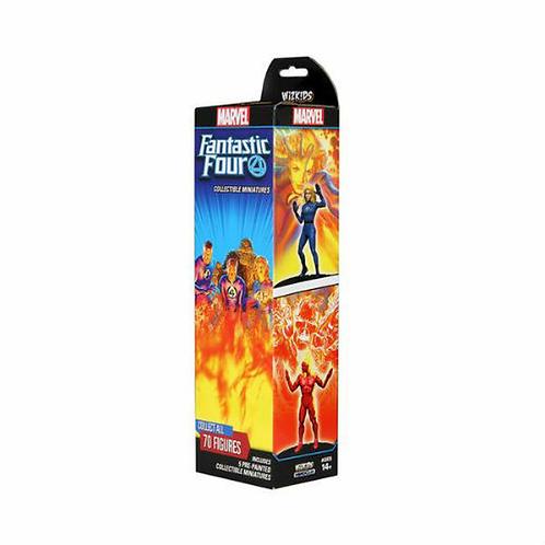 Marvel Heroclix Fantastic Four Booster