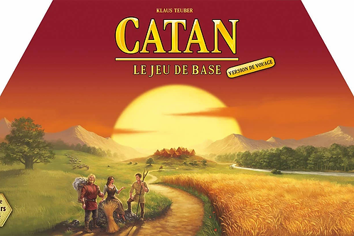 Catan - le jeu de base - Version de Voyage