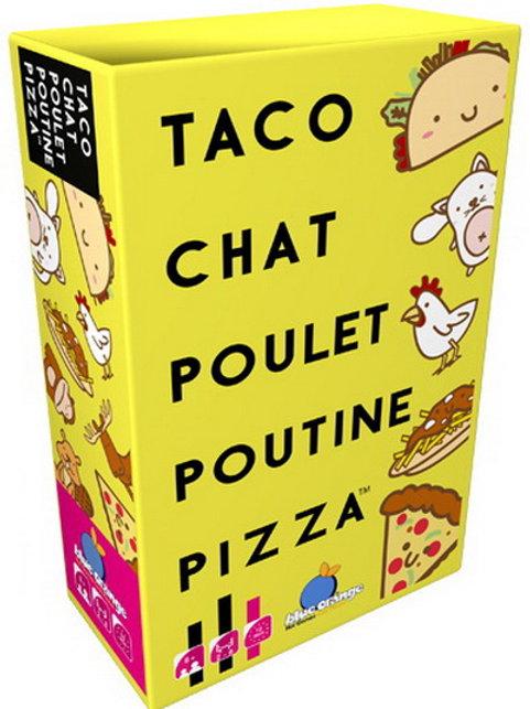 Taco Chat Poulet Pizza