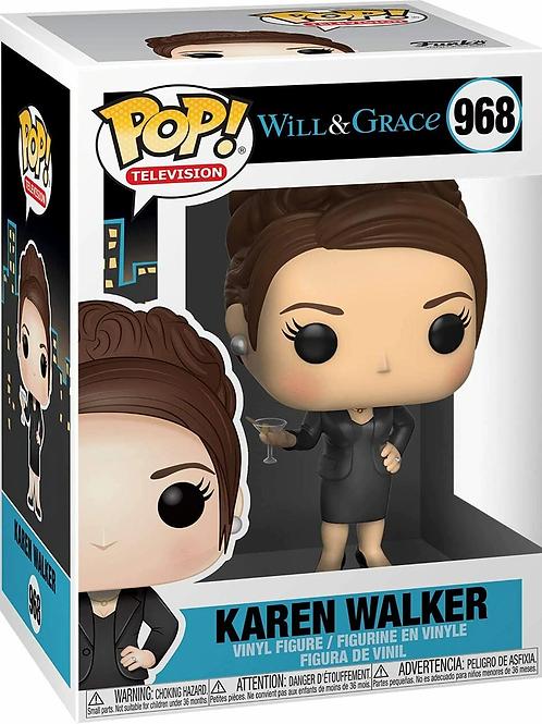 Karen Walker - Funko Pop 968 Will And Grace