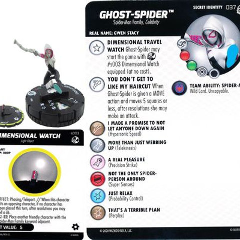 Ghost-Spider #037 w/Dimensional Watch