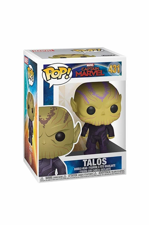 Talos- Funko Pop 431 Marvel Cap