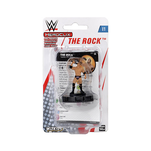 The Rock Heroclix WWE