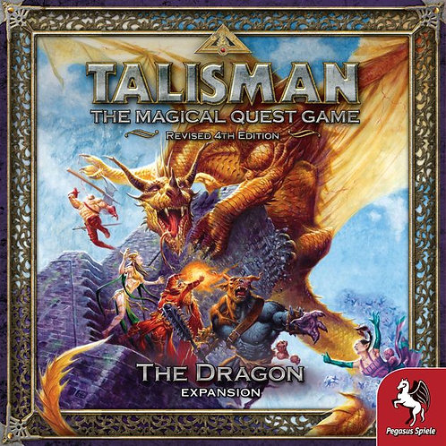 Talisman, The magical Quest Game Revised 4th Edition, The Dragon Expansion