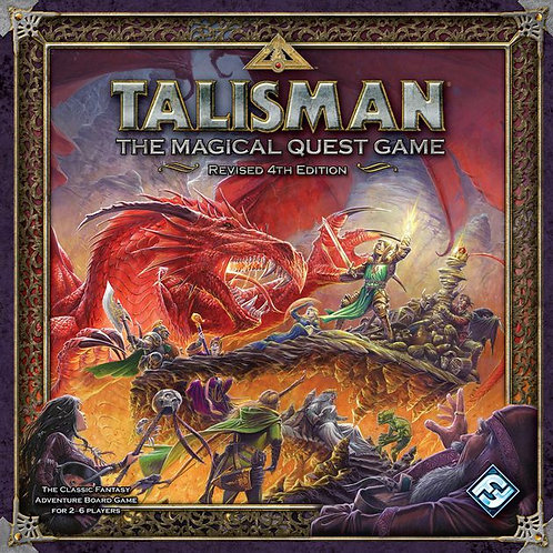 Talisman, The magical Quest Game Revised 4th Edition