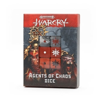 Warcry : Agents of Chaos Dice