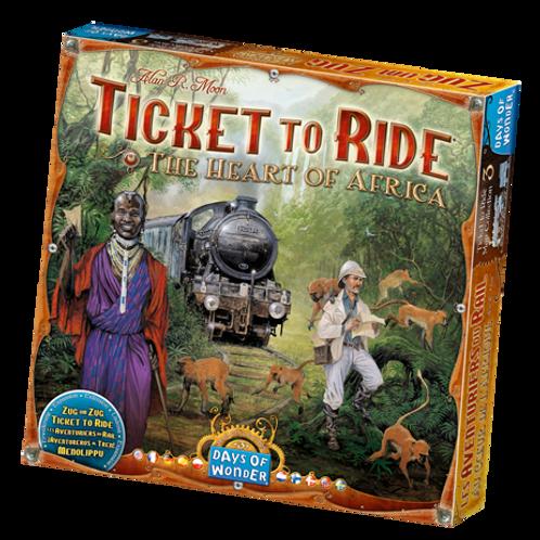 Les Aventuriers du Rail - ext. Afrique (multilingue) Ticket to Ride