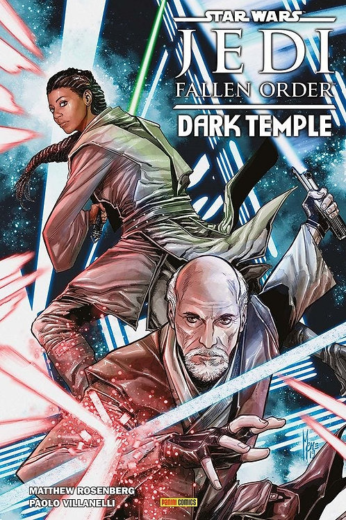 Star Wars Jedi Fallen Order Dark Temple - Hard Cover