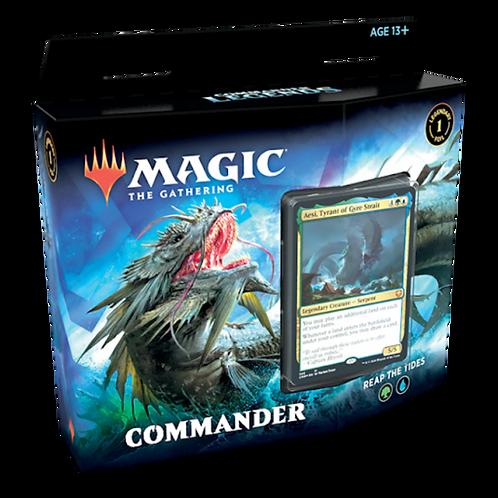 MTG Commander Legends :  Reap the tides  (Green - Blue)