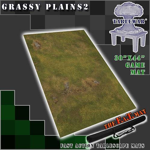 """Grassy Plains 2 - 30"""" x 44"""" - Fat Mat"""