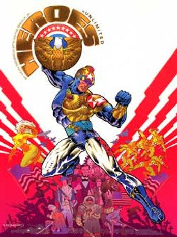 Heros Unlimited RPG Hardcover