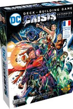 DC Comics Deck-Building Game -Crisis 1 (ENG & FR)