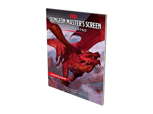 D&D Dungeon Master's Screen - Rencarnated