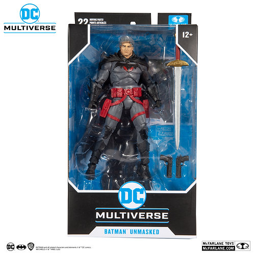Batman Unmasked - DC Multiverse, McFarlane Toys