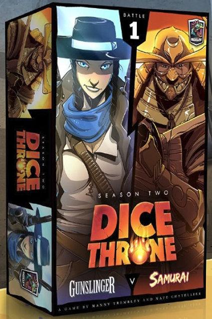 Dice Thrones - Seasons Two - Gunslinger v Samurai