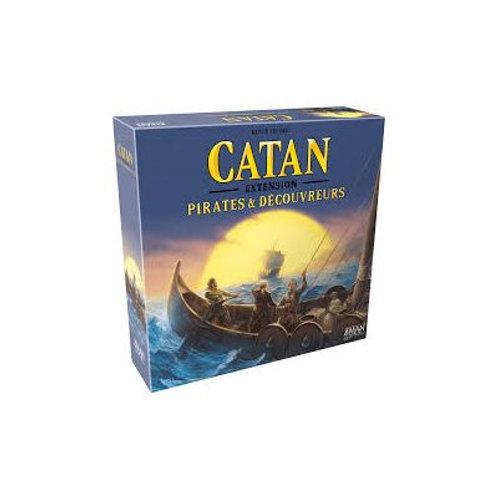Catan - Pirates et Découvreurs - Extension
