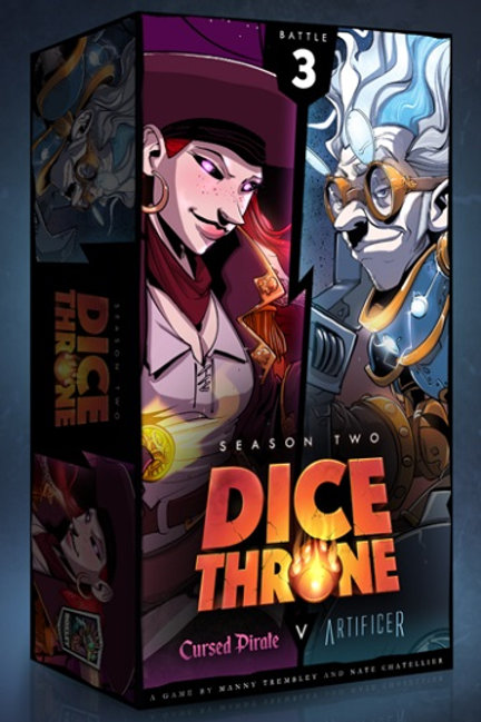 Dice Thrones - Seasons Two -Cursed Pirate v Artificer