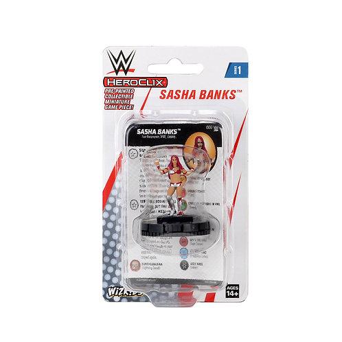 Sasha Banks Heroclix WWE