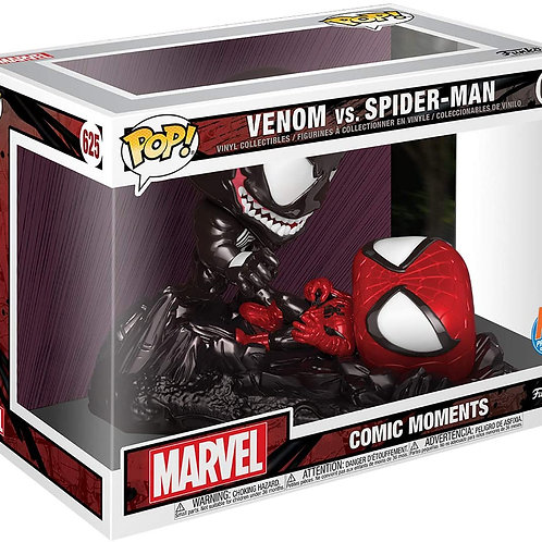 Venom VS Spider-Man - Funko Pop 625 Marvel Comic Moment