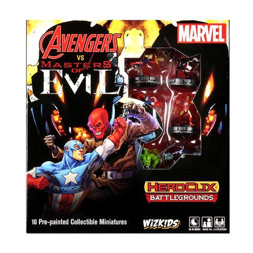 Marvel Heroclix Avengers vs Master of Evil Starter