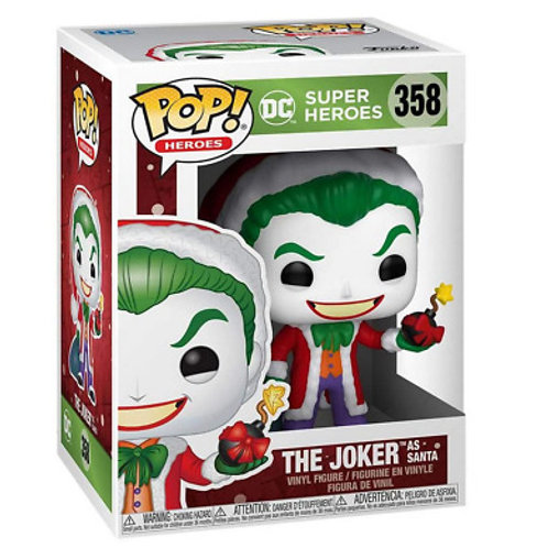 The Joker As Santa - Funko Pop 358 DC