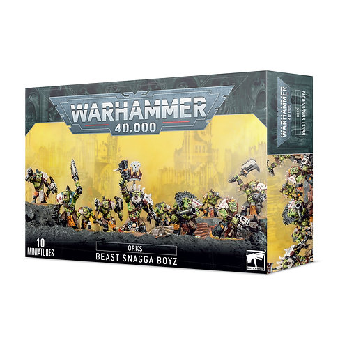 Beast Snagga Boyz - Orks - Warhammer 40,000