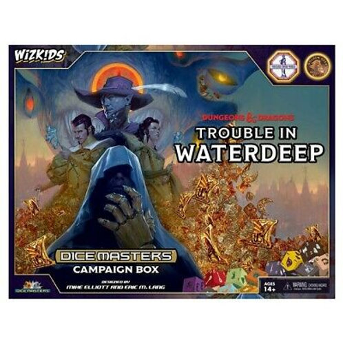 Dice Master Campaign Box : Dungeons And Dragon Trouble In Waterdeep