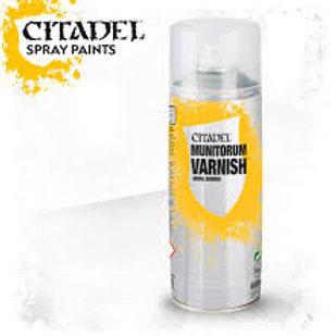 Munitorum Varnish - Aérosol Citadel Spray