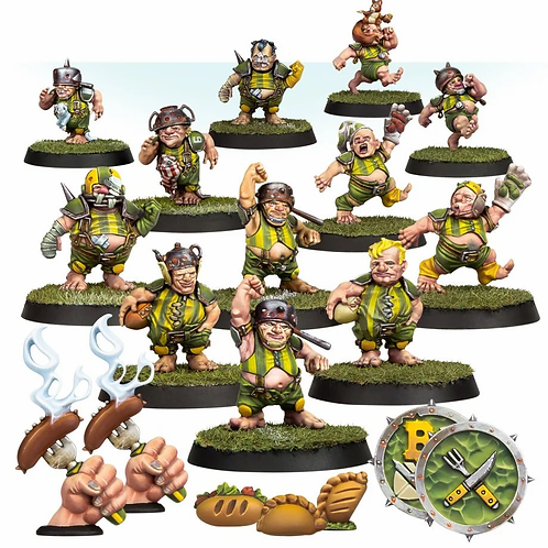 Blood Bowl -The Greenfield Grasshuggers