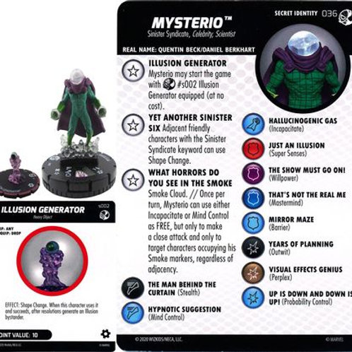 Mysterio #036 w/ Illusion Generator