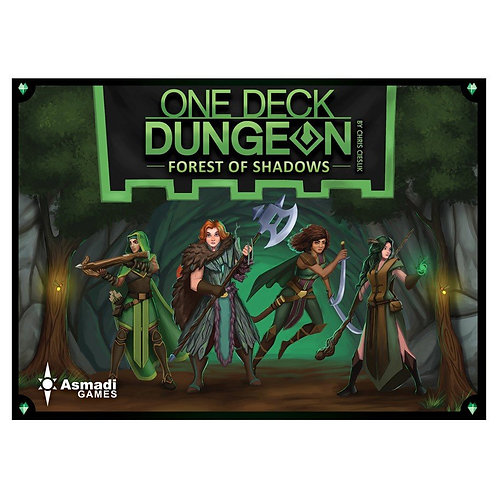 One Deck Dungeon Forest of Shadow