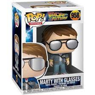 Marty With Glasses - Funko Pop 958 Back To The Future