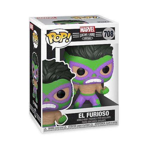 El Furioso  - Funko Pop 708 Marvel Lucha Libre