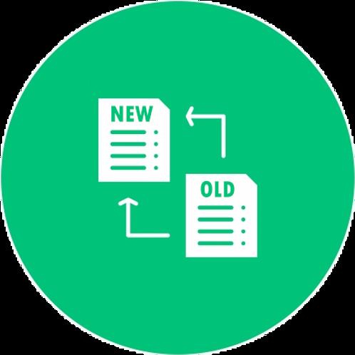 Datafile Upgrade