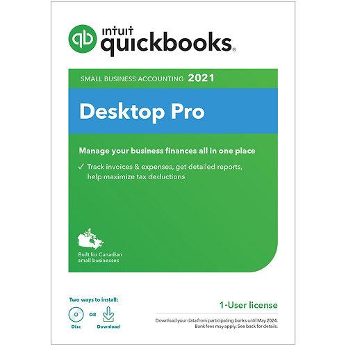QuickBooks Desktop Pro 2021