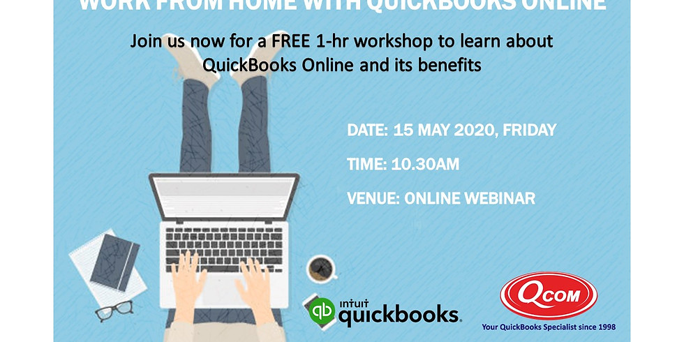 Working from Home with QuickBooks Online