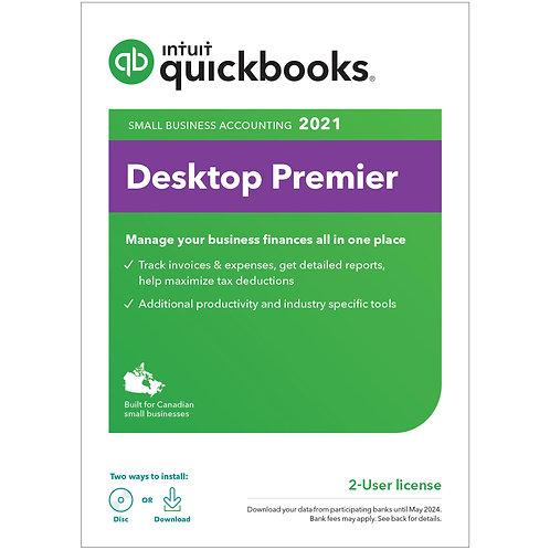 QuickBooks Desktop Premier 2021