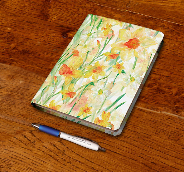 'Daffodil Blooms' Notebook