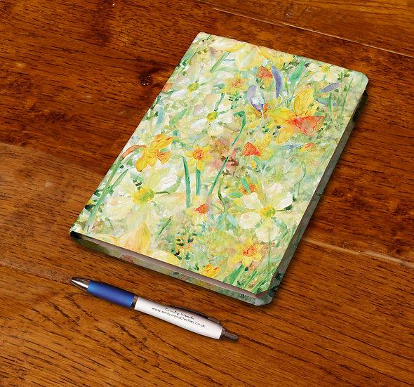 'Daffodil Crazy' Notebook
