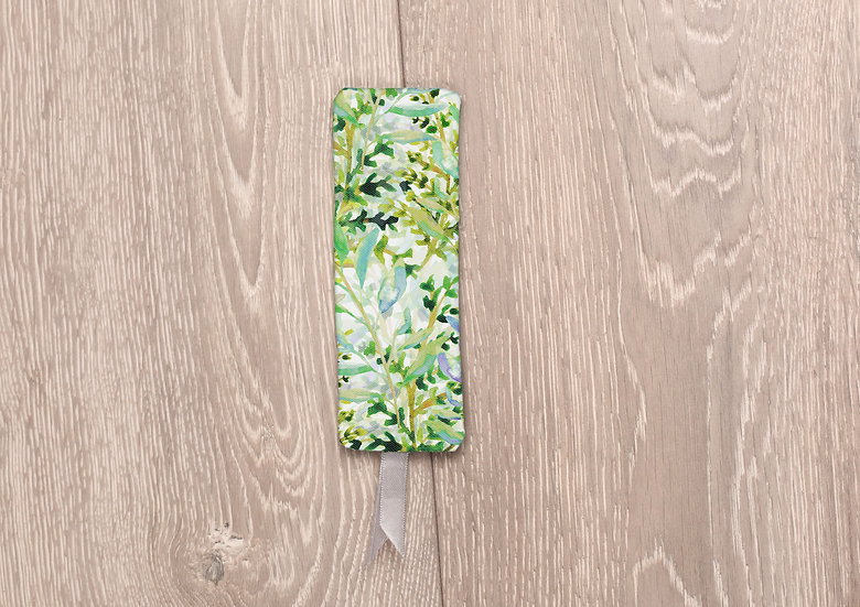 'Spring Foliage' Bookmark