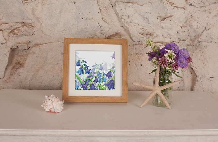 'Bluebell Valley' Print